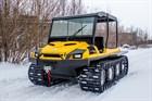 Компания TINGER представила рестайлинговую модель гусеничного вездехода ARMOR W6/W8 2017 года.