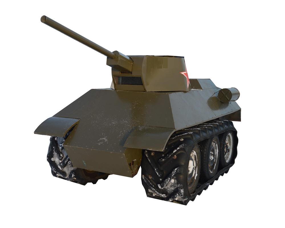 """Мини танк """"34-ка"""" - фото 12441"""