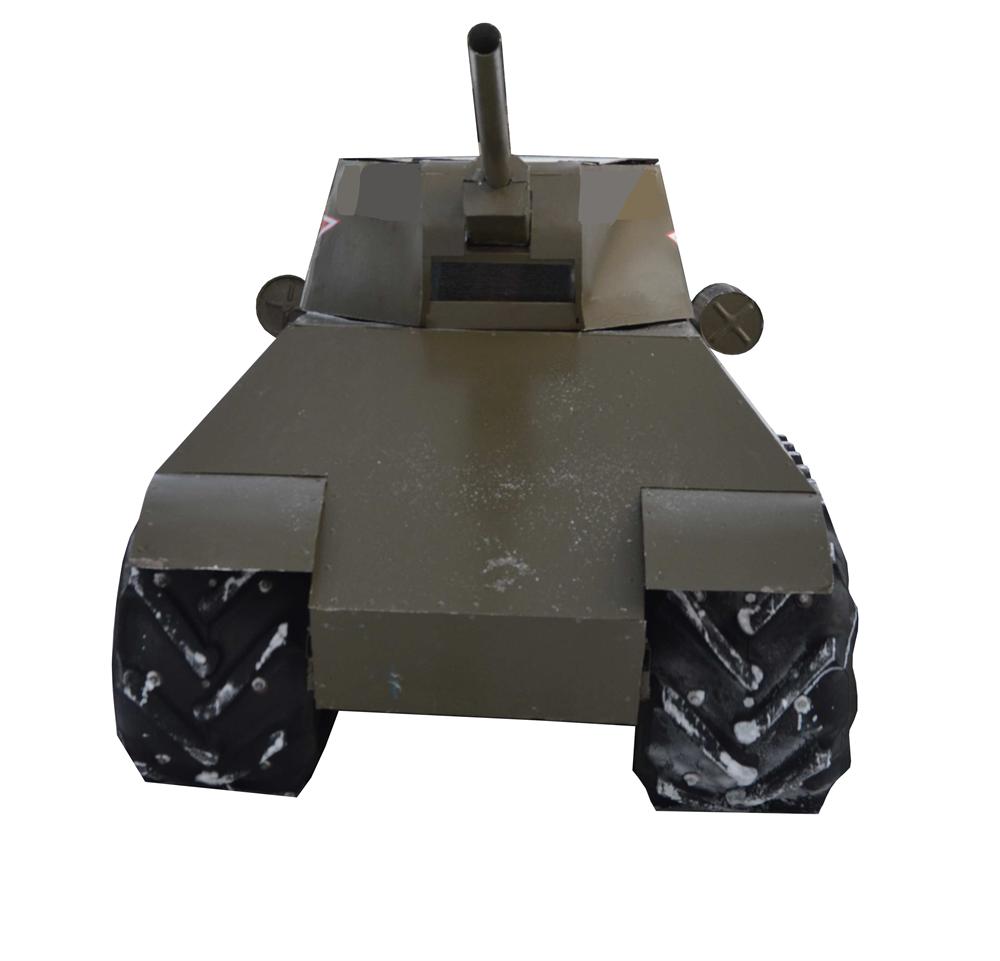 """Мини танк """"34-ка"""" - фото 12443"""