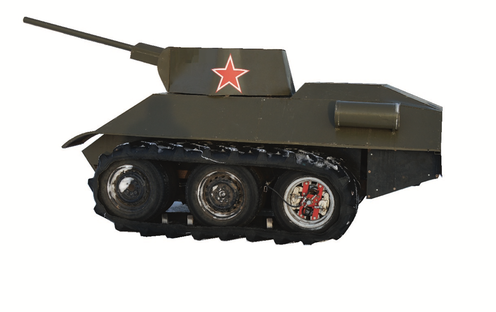 """Мини танк """"34-ка"""" - фото 12444"""