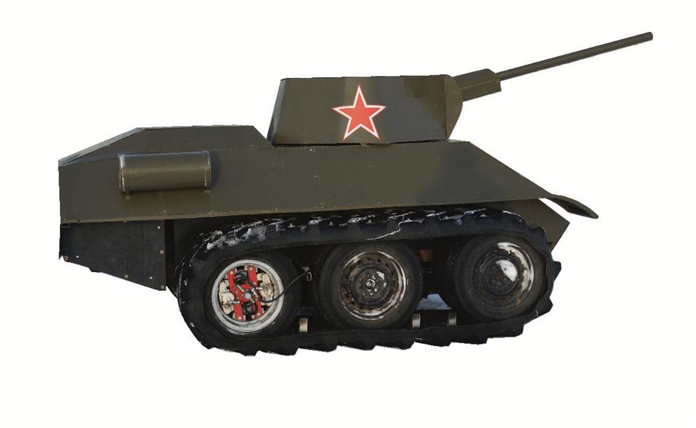 """Мини танк """"34-ка"""" - фото 12445"""