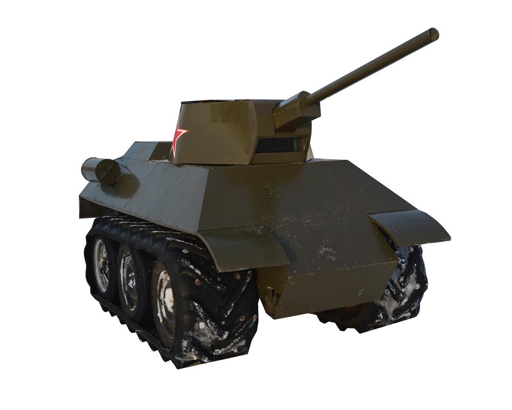 """Мини танк """"34-ка"""" - фото 12446"""