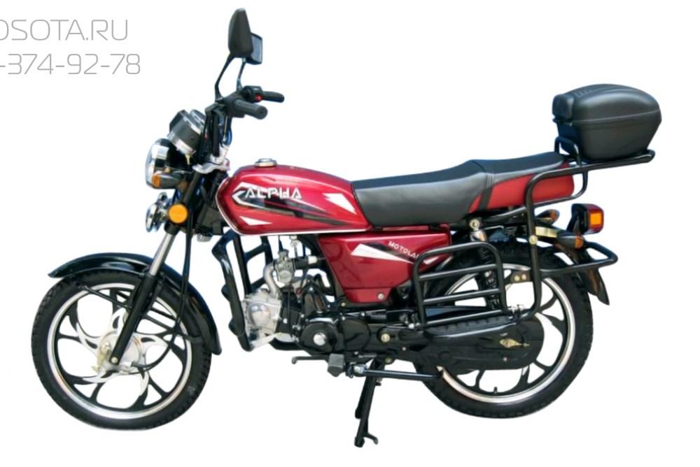 Motoland Альфа LUX 125 - фото 5080