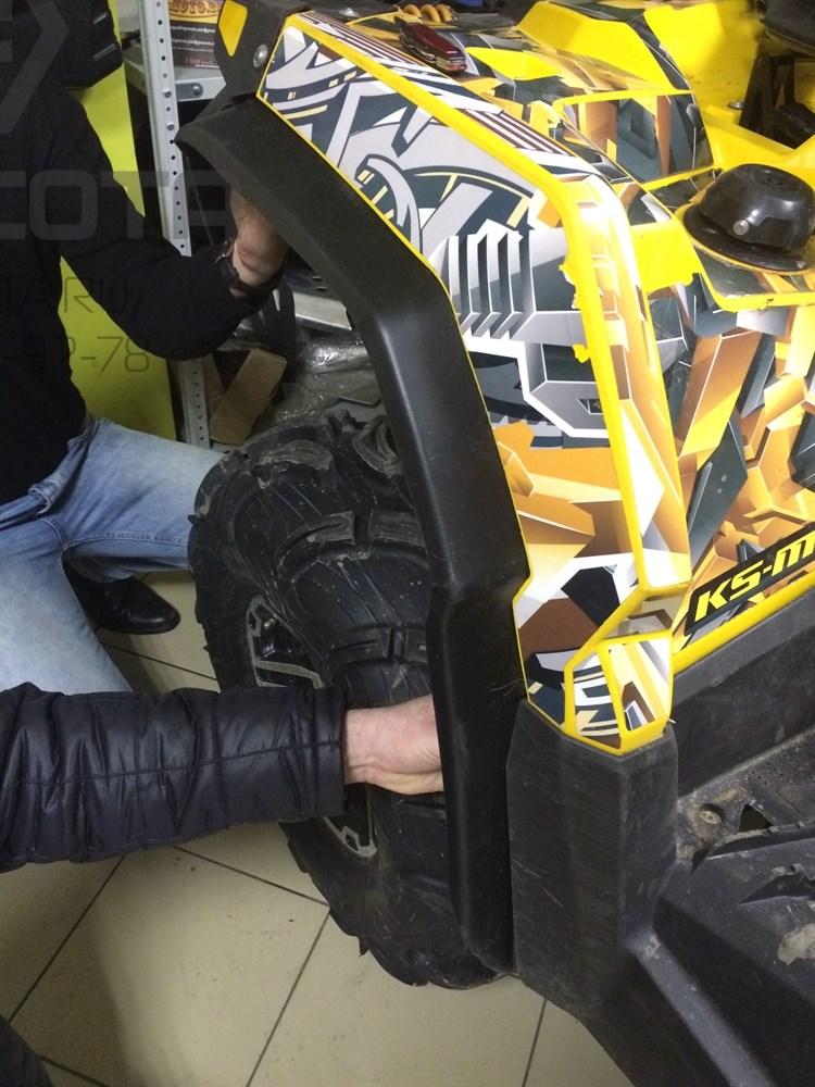 Расширители колесных арок для Stels ATV800G GUEPARD - фото 6460
