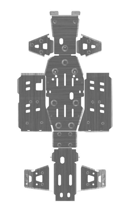 Полный комплект защиты (4 мм) - фото 7020