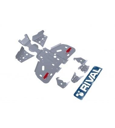 Комплект защит BRP (Can-Am) Outlander 400 (5 частей) 2011- - фото 7196
