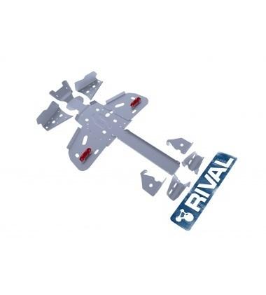 Комплект защит BRP (Can-Am) Outlander 650/800 max 2011-2012 - фото 7198