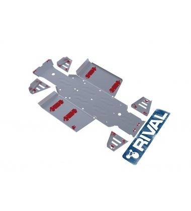 Комплект защит Polaris UTV Ranger 400 (7 частей) 2013- - фото 7251