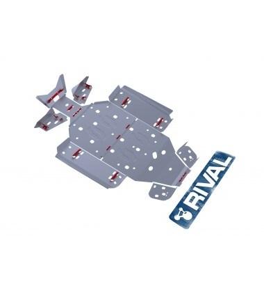 Комплект защит Polaris UTV RZR 570 EFI (6 частей) 2012- - фото 7256
