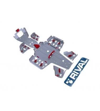 Комплект защит Yamaha ATV Grizzly 550 (5 частей) 2010-13 - фото 7285