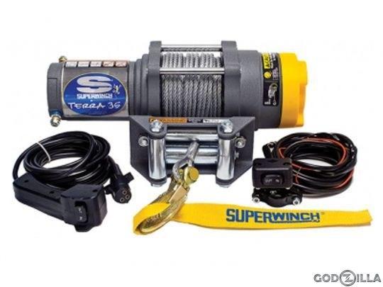 Лебедка электрическая для ATV Superwinch Terra35 - фото 7329