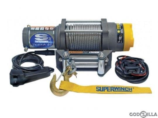 Лебедка электрическая для ATV Superwinch Terra45 - фото 7331