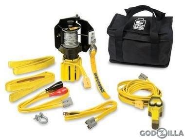 Лебедка для ATV электрическая Superwinch 2000 - фото 7347