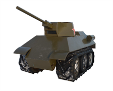"""Мини танк """"34-ка"""""""