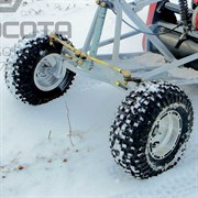 Комплект колес для универсального лыжного модуля МУХТАР