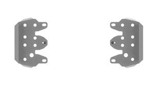 Защита порогов 4 мм
