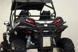 CF-moto Z8 Бампер задний 2013-