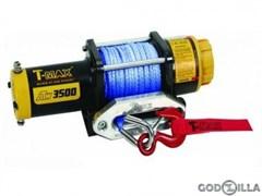 Лебедка для квадроцикла T-MAX ATW-PRO 3500 с синтетическим тросом